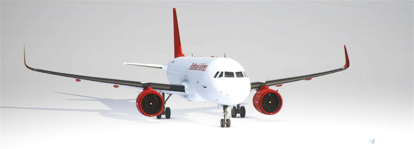Redhawk Airlines Original Livery Flight Simulator 2020