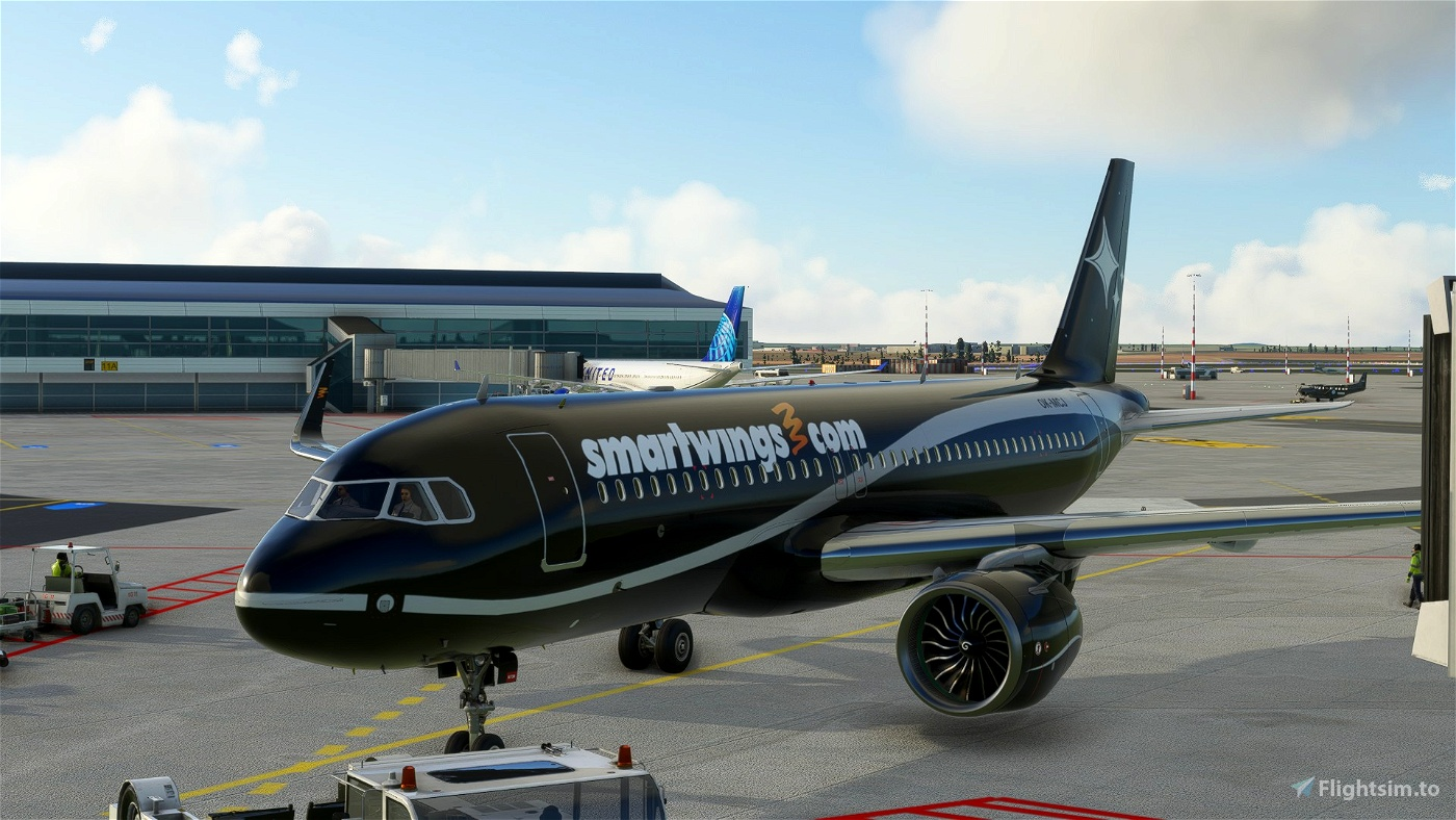 A320 NEO (Lithuanian) Smartwings Black