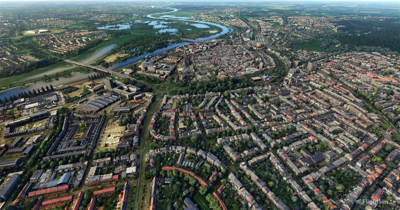 Arnhem - City Image Flight Simulator 2020