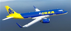 Airbus A320 Neo - FLIKEA Livery Image Flight Simulator 2020