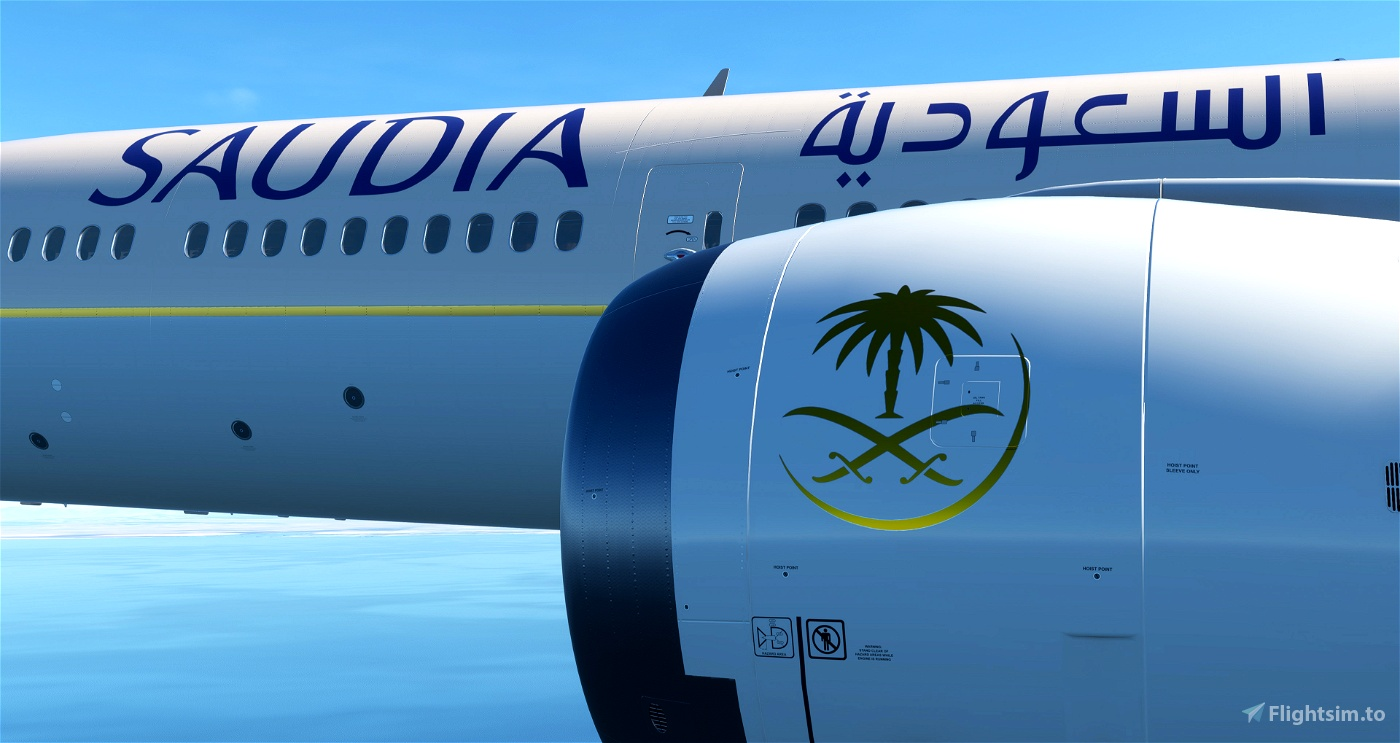 [8k] Saudia (Saudi Airlines) Flight Simulator 2020