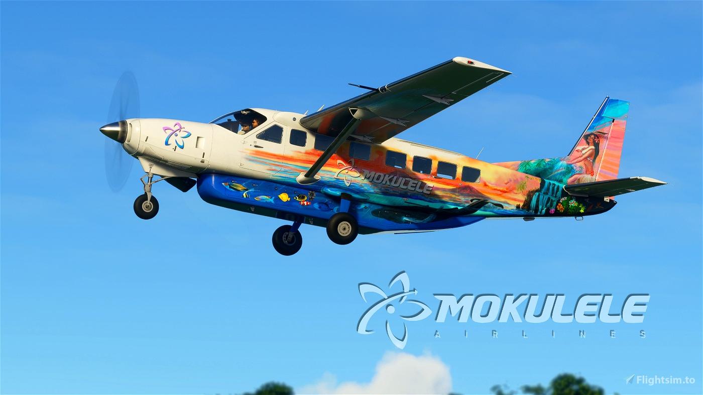 Mokulele Big Island Air Cessna 208b Grand Caravan EX Livery Flight Simulator 2020