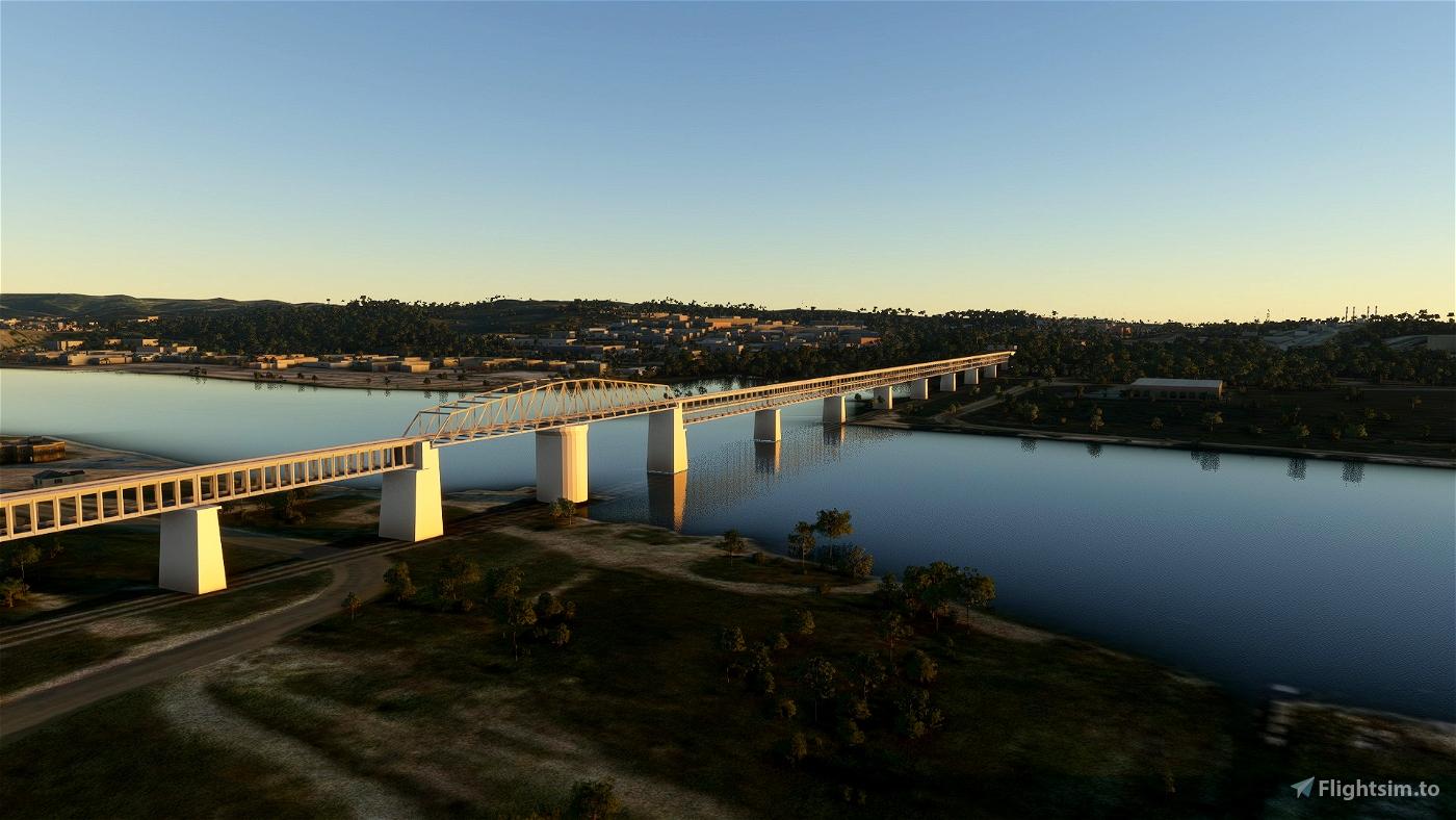 Martigues & Caronte Bridges Flight Simulator 2020