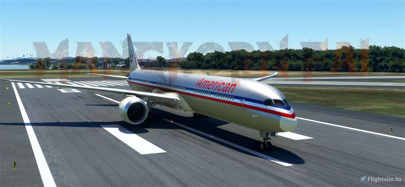 American Airlines Retrofit 787