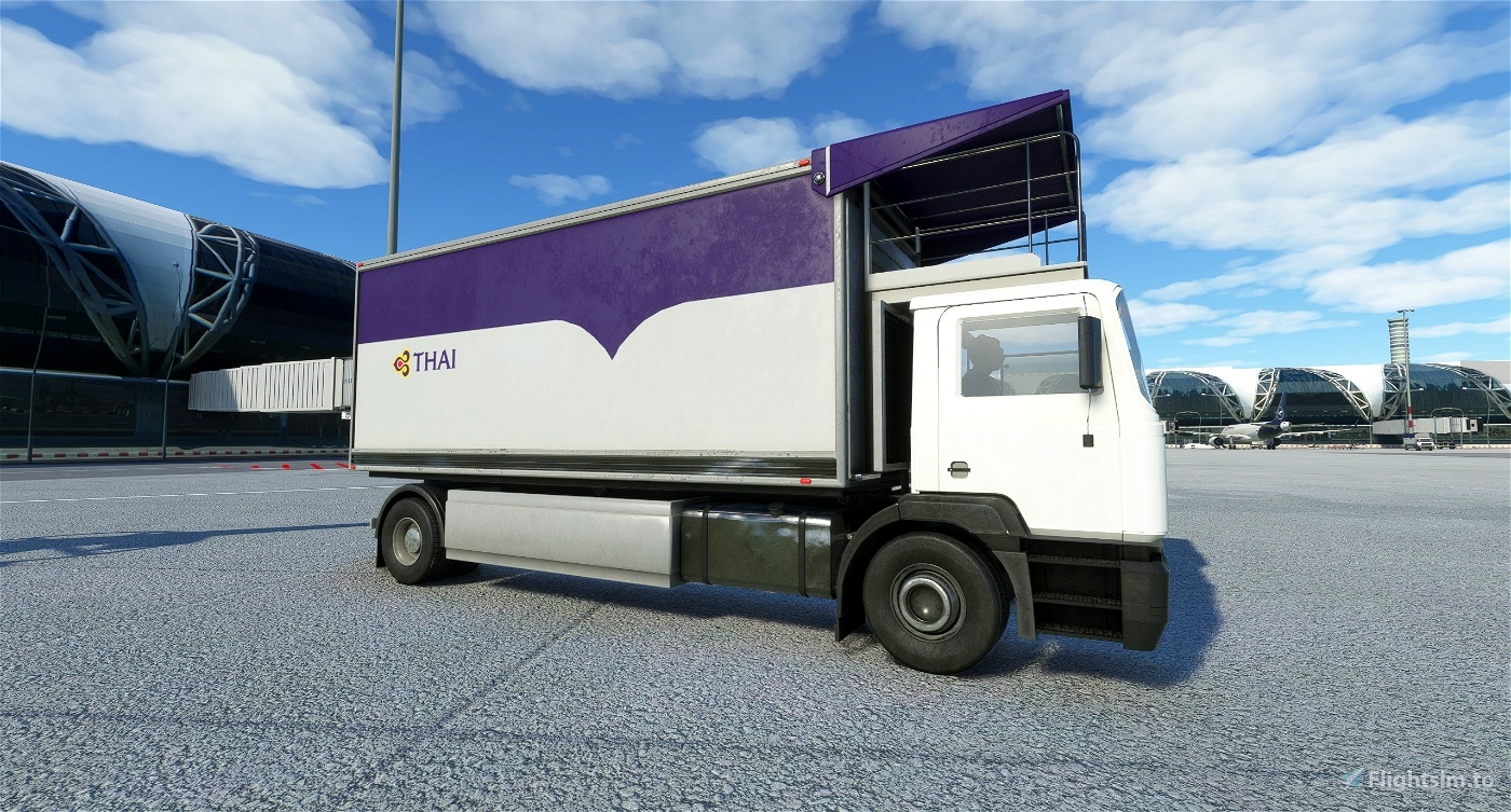 Thai Airways Catering Truck Livery Pack