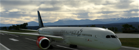(8K) Boeing 787 Star Alliance Air India Image Flight Simulator 2020