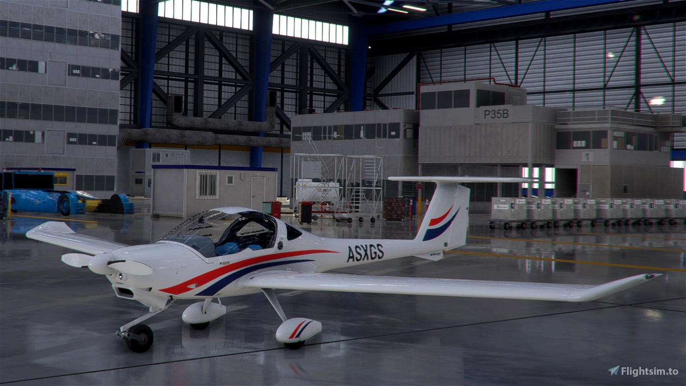 Diamond DV20 liveries Blue/Red and Red/Orange with interiors