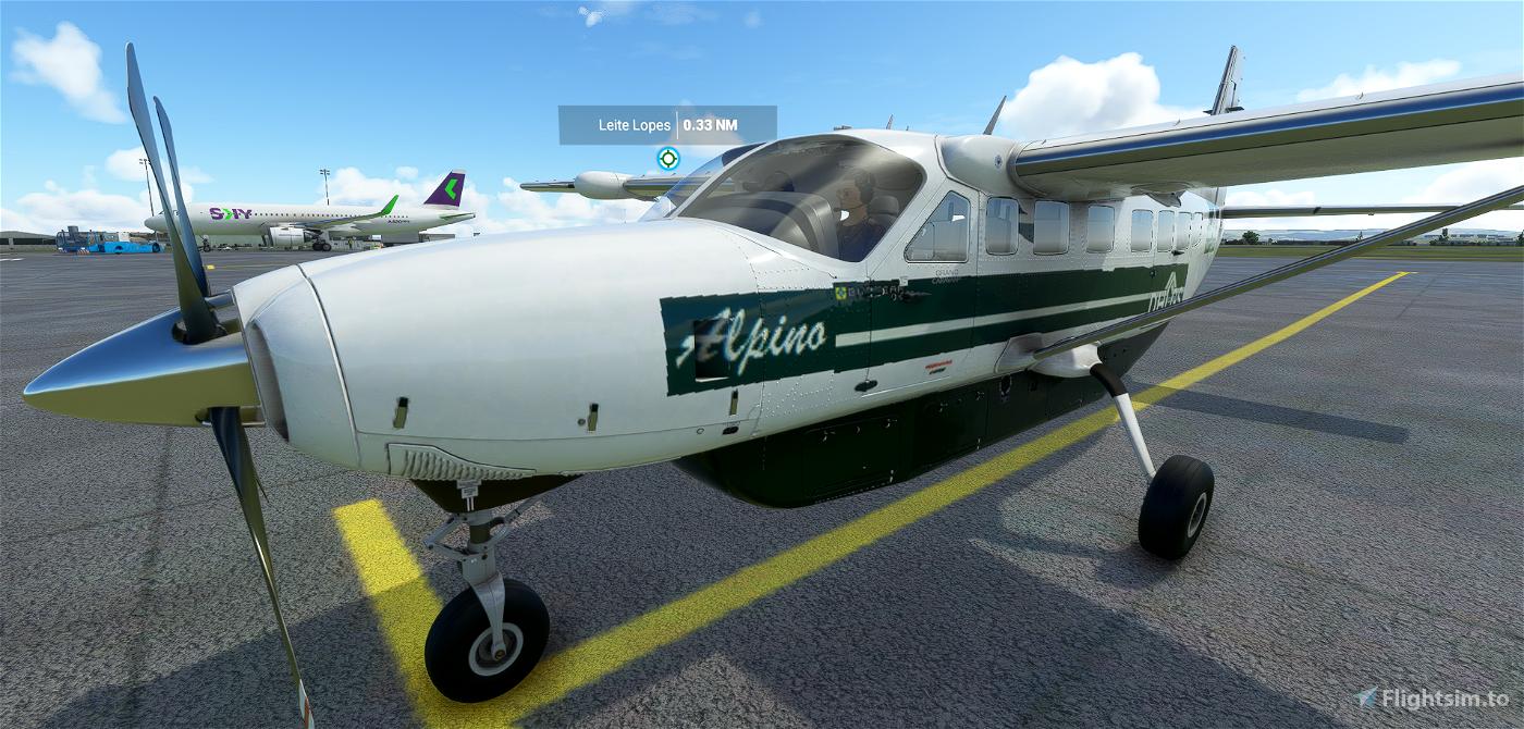 Cessna 208B Grand Caravan EX MANTIQUEIRA Livery