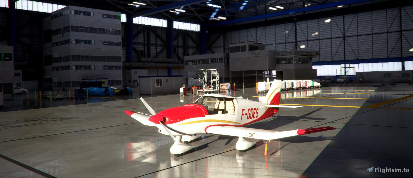 Robin DR400 Aéroclub de Dieppe F-GDES