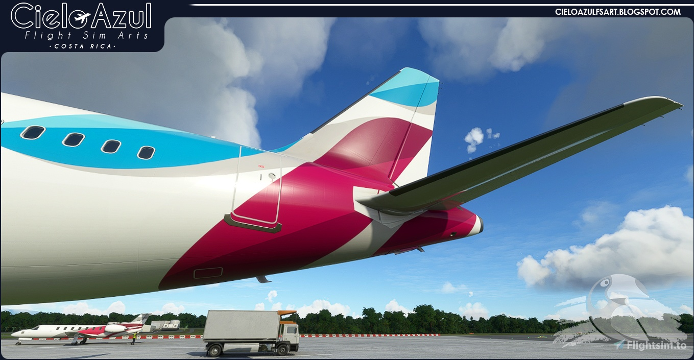 Eurowings | OE-IQD | Asobo Airbus A320neo (8K)