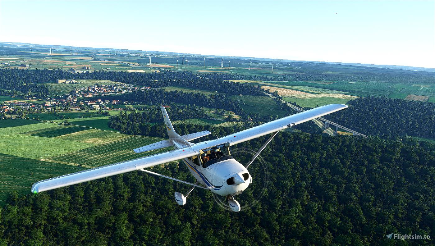 Cessna 172 Classic livery - D-EDAT