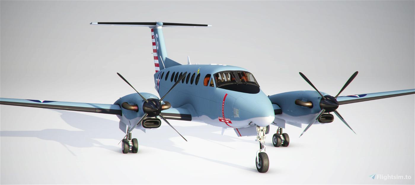 Beechcraft King Air US Navy 100th Anniversary of Naval Aviation