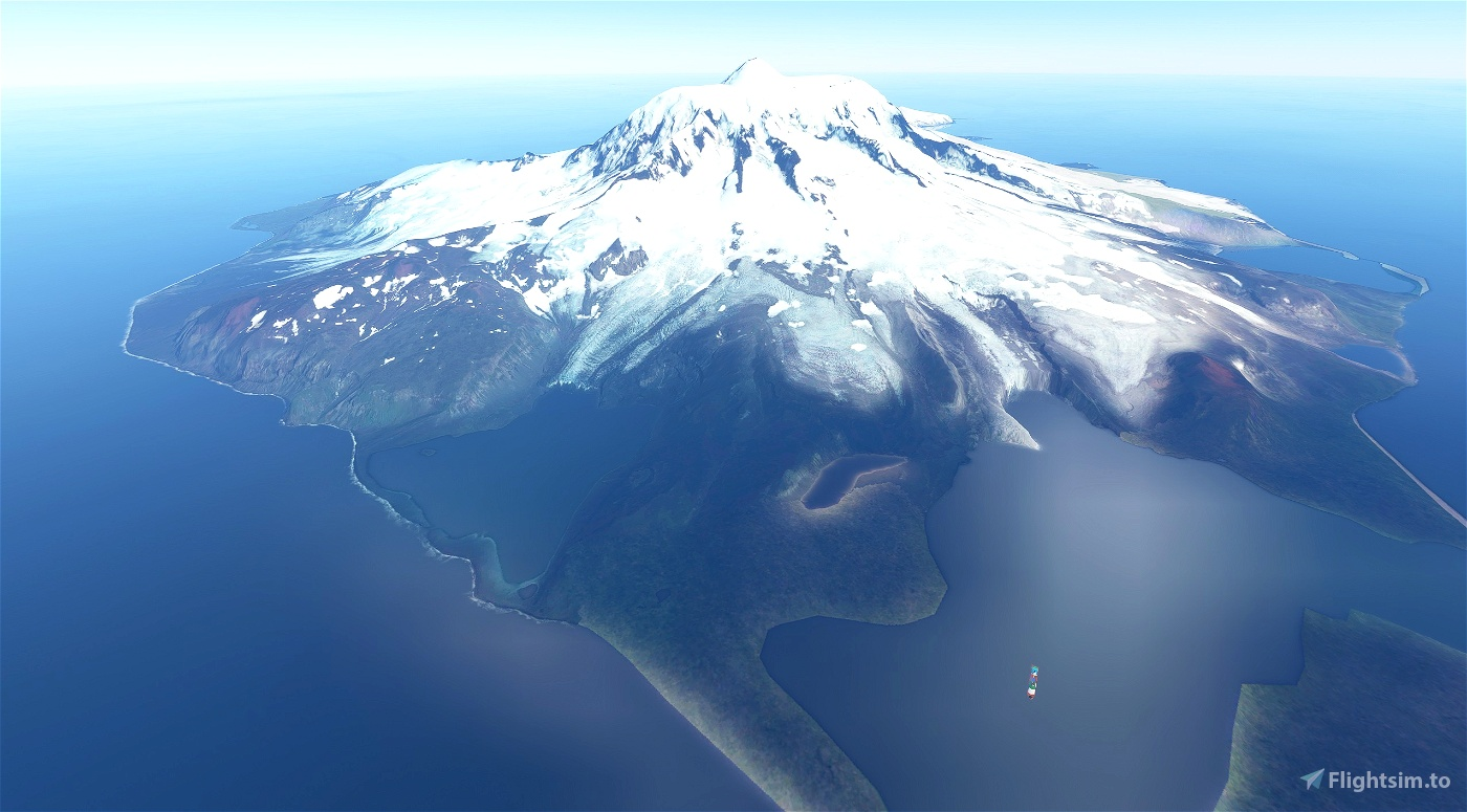 Heard Island Antarctica - Photo Scenery Flight Simulator 2020