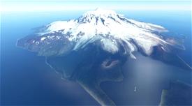 Heard Island Antarctica - Photo Scenery Image Flight Simulator 2020