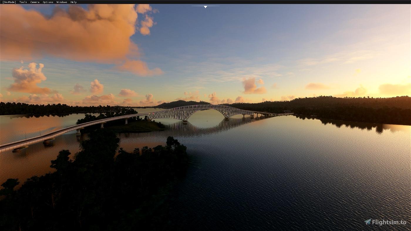 San Juanico Bridge (RGB)(Tacloban City,Philippines)