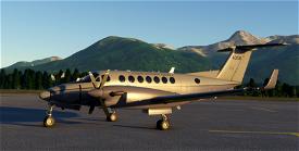 US Army MC-12V Super King Air Image Flight Simulator 2020