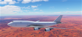 747-8 BCF (Boeing Converted Freighter) Ghost Plane (Lease Model) Image Flight Simulator 2020