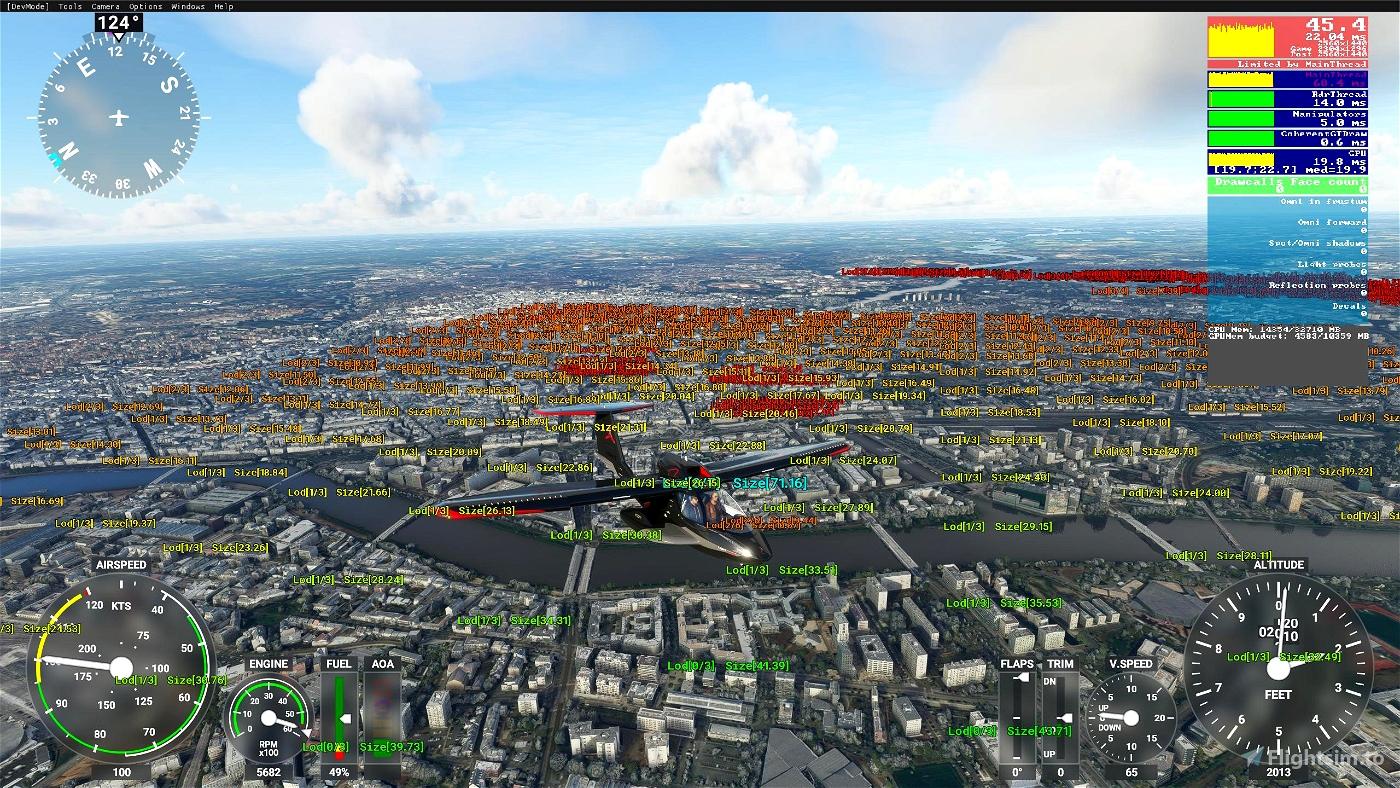 Google Earth Decoder optimization tools Flight Simulator 2020