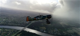 Fokker D.21 conversion Microsoft Flight Simulator