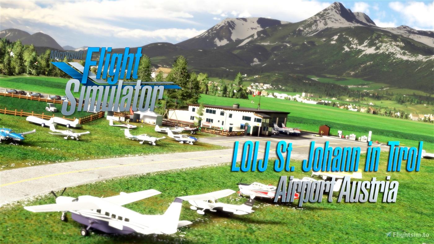 Saint Johann airport LOIJ Austria v1.1 Flight Simulator 2020