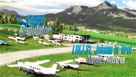 Saint Johann airport LOIJ Austria v1.1 Image Flight Simulator 2020