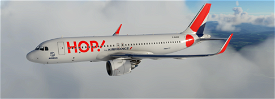 A320neo HOP! For AIRFRANCE Image Flight Simulator 2020