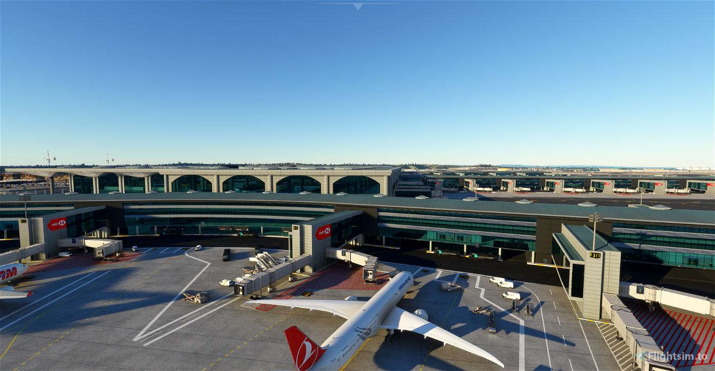 LTFM - Istanbul Airport SU5 Microsoft Flight Simulator