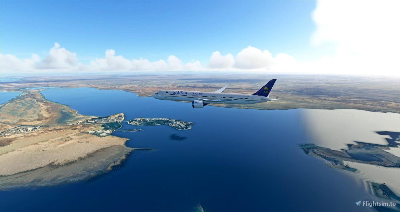 [8k] Saudia (Saudi Airlines)