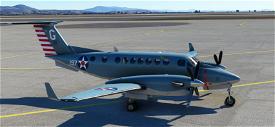 Beechcraft King Air US Navy 100th Anniversary of Naval Aviation Image Flight Simulator 2020