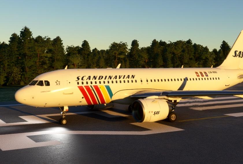 SAS / RETRO Flight Simulator 2020