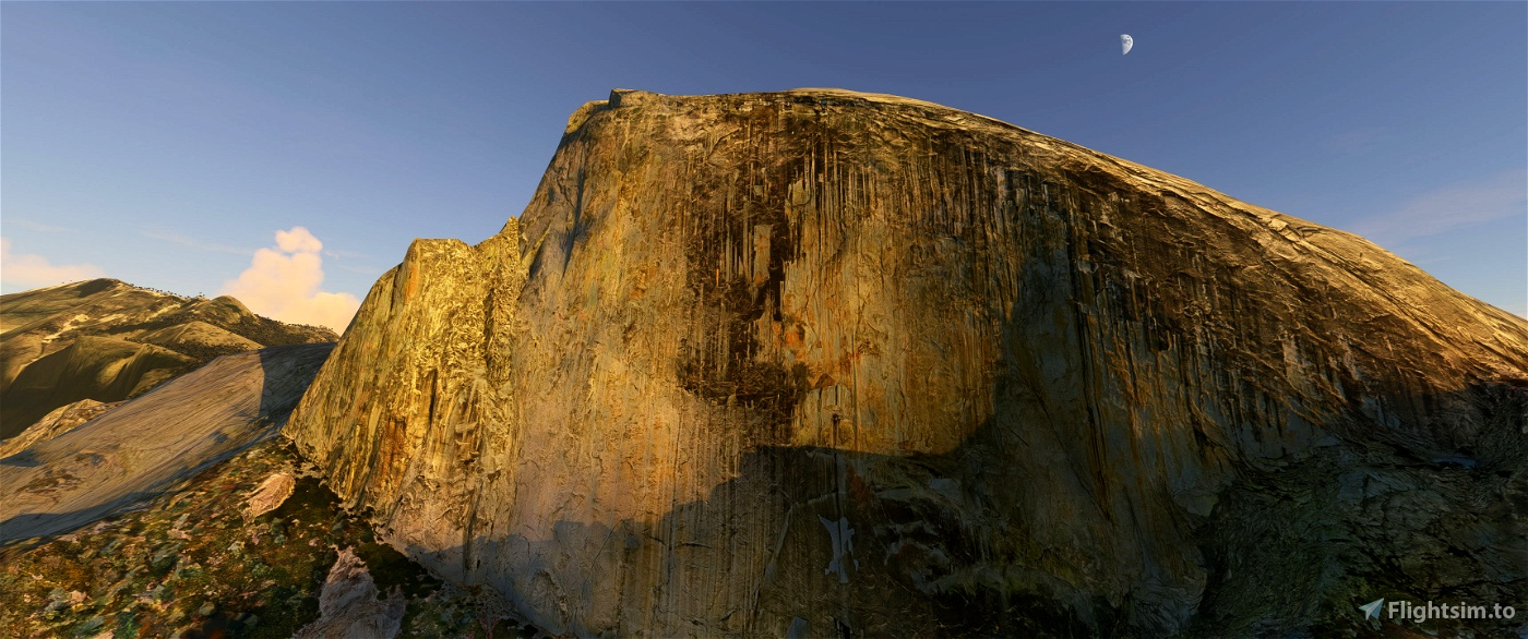 Yosemite Valley Microsoft Flight Simulator