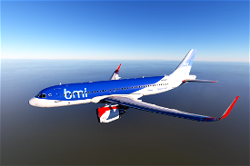 Airbus A320neo BMI Image Flight Simulator 2020