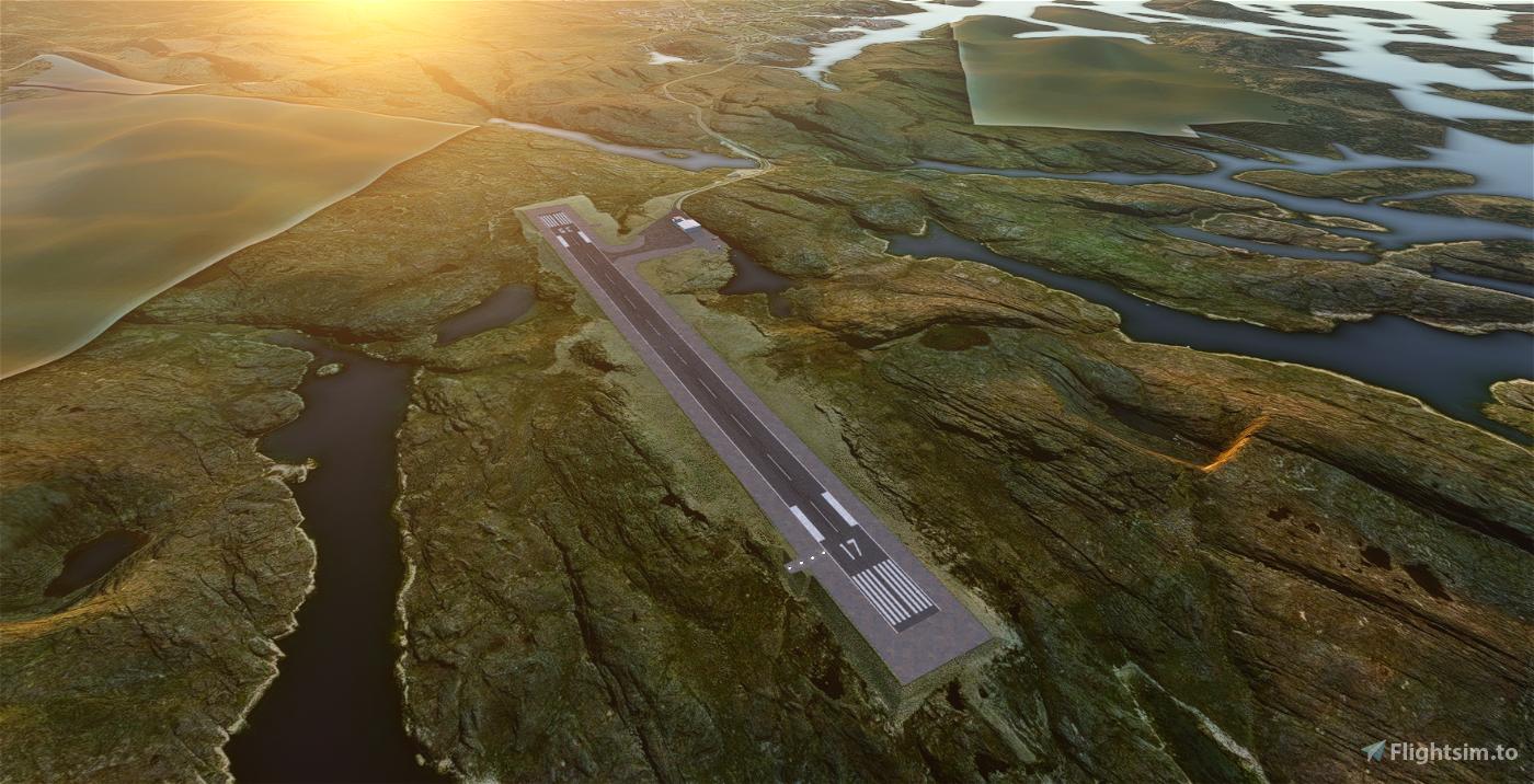BGPT Paamiut Greenland Image Flight Simulator 2020