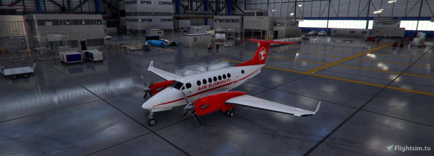 AIR DJIBOUTI Flight Simulator 2020