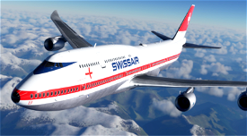 Boeing 747-8 Swissair Image Flight Simulator 2020
