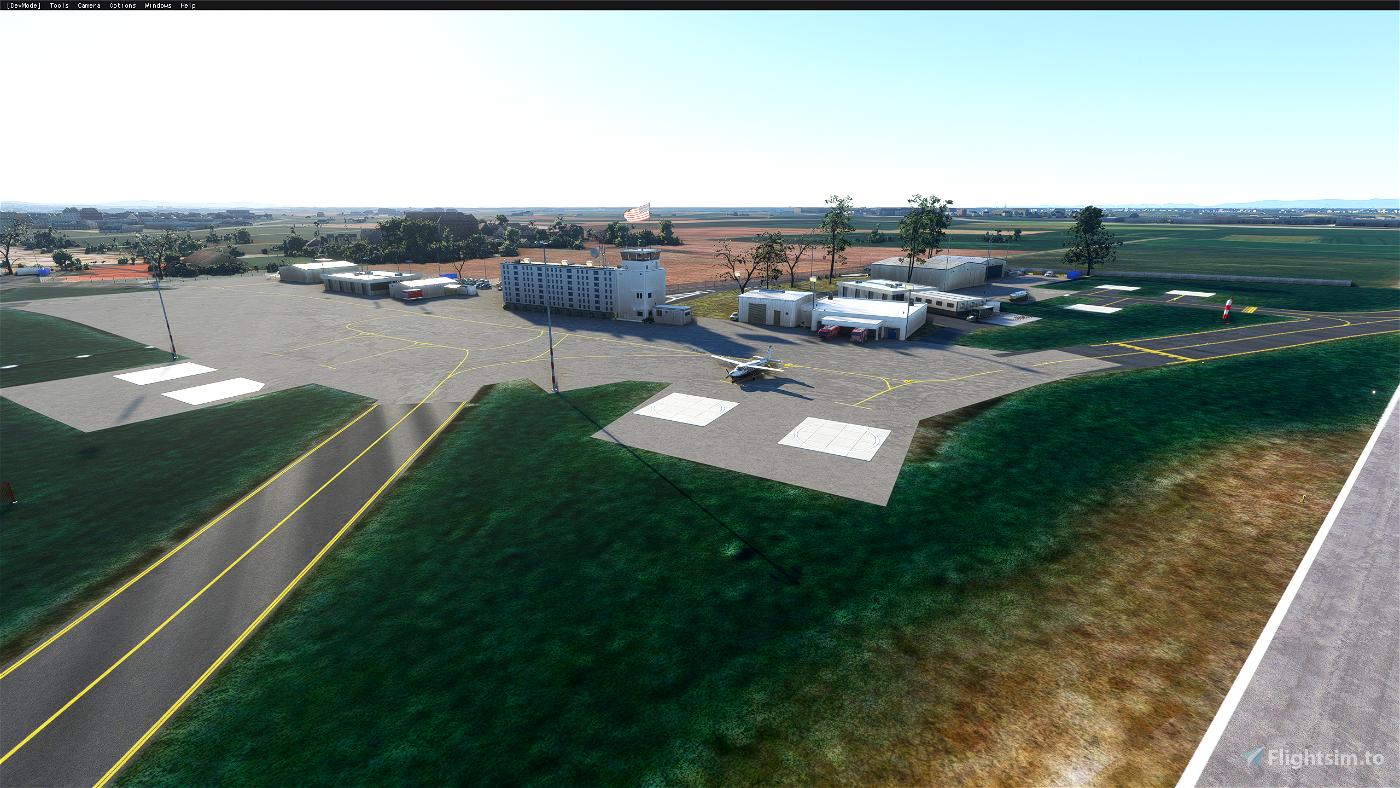 Heidelberg Army Airfield - ETIE Image Flight Simulator 2020