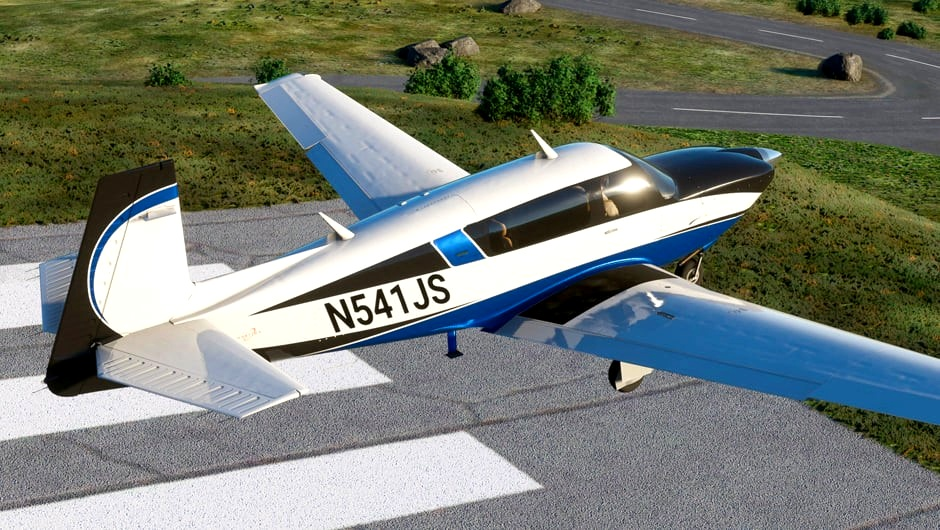 M20R Ovation Better Cameras Flight Simulator 2020