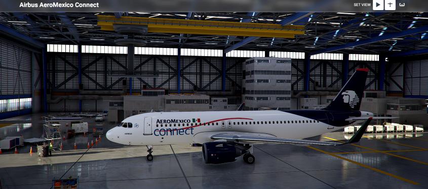 AeroMexico Connect Flight Simulator 2020