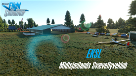 EKSL - Midtsjællands-svæveflyveklub Microsoft Flight Simulator