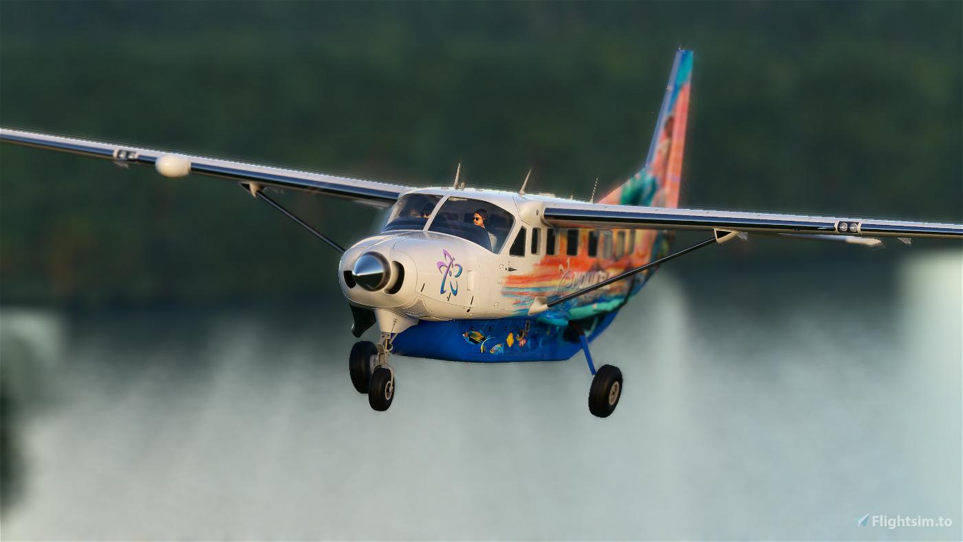 Mokulele Big Island Air Cessna 208b Grand Caravan EX Livery