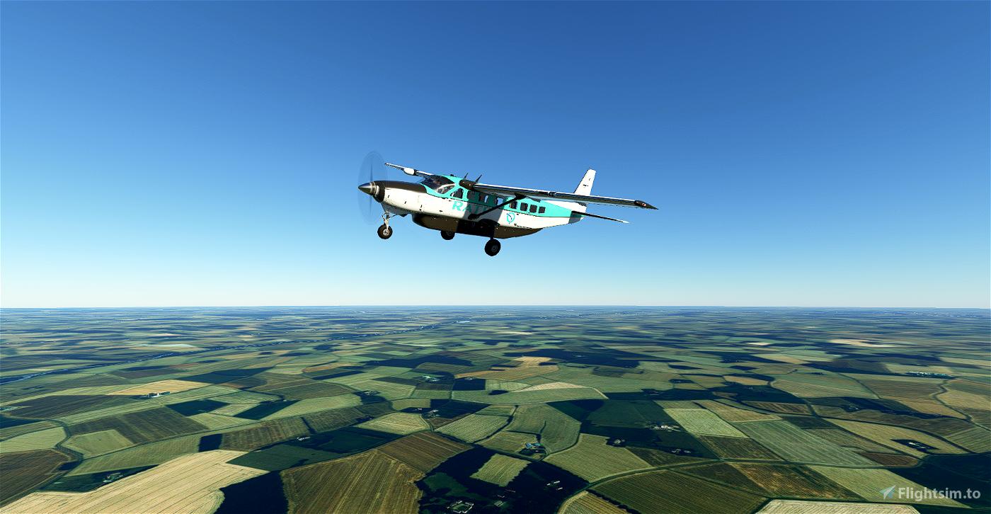 C208B RATP (4K) Flight Simulator 2020