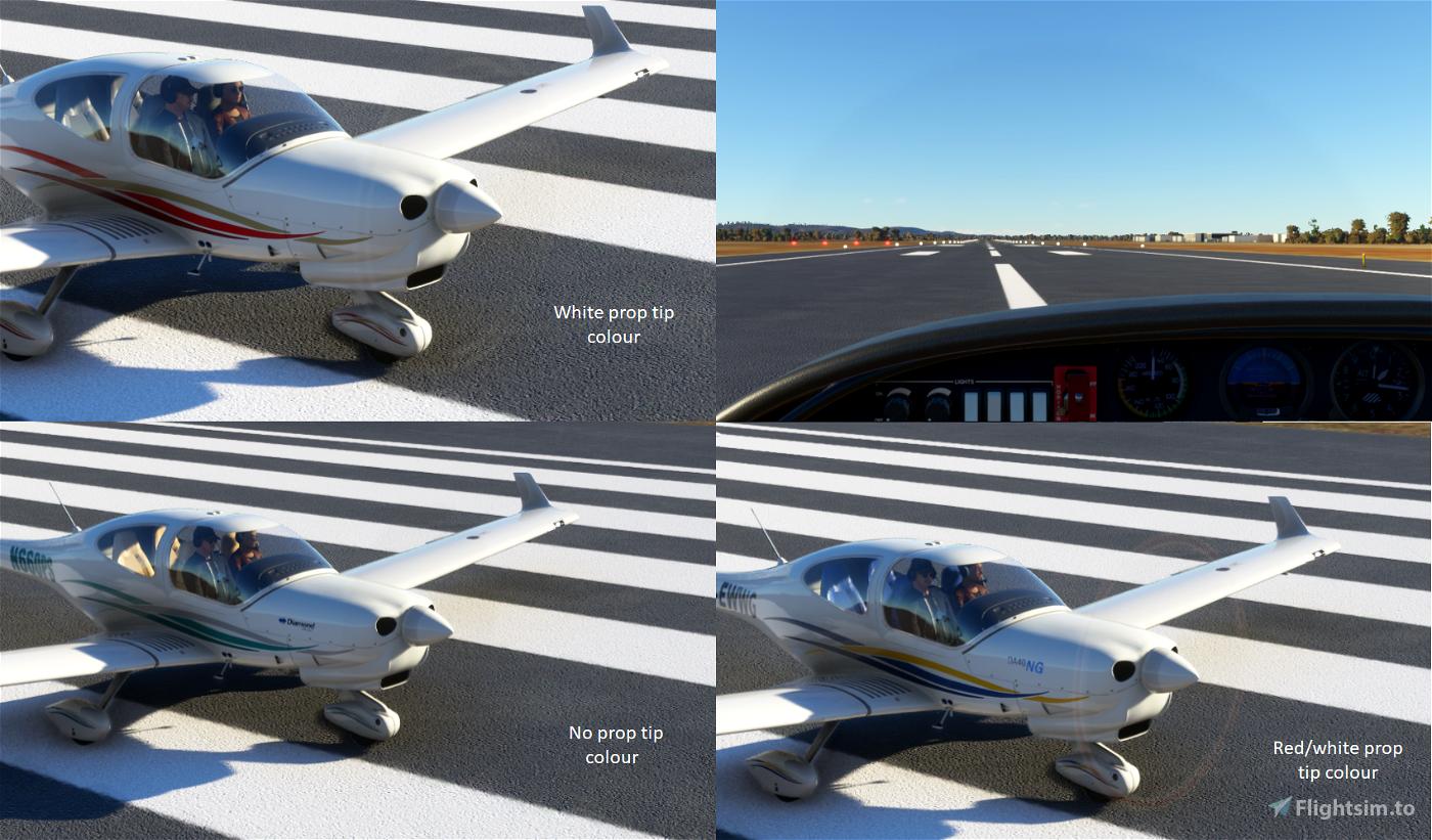 DA40 NG Repaints Flight Simulator 2020