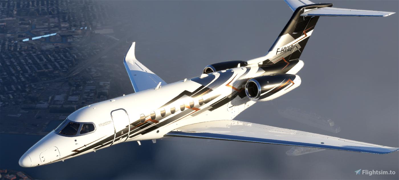 Citation Longitude N616NP Microsoft Flight Simulator