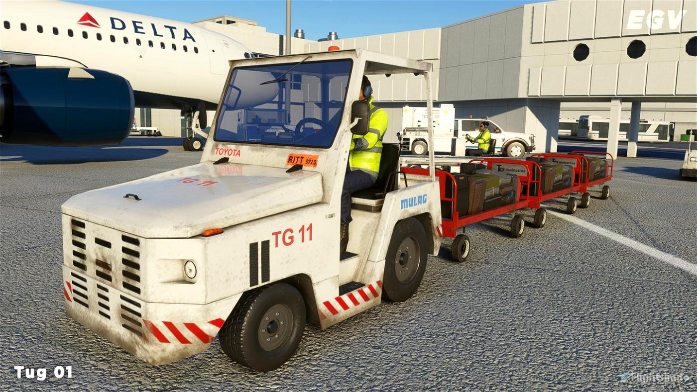Enhanced Ground Vehicles