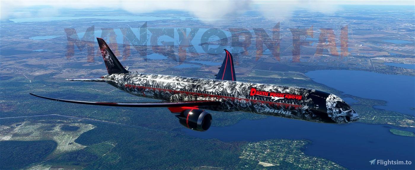 787-10 Death From Above Flight Simulator 2020