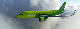 A320neo S7 Airlines Image Flight Simulator 2020