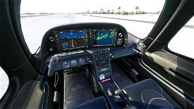 Black Interior Cirrus SR22 Image Flight Simulator 2020