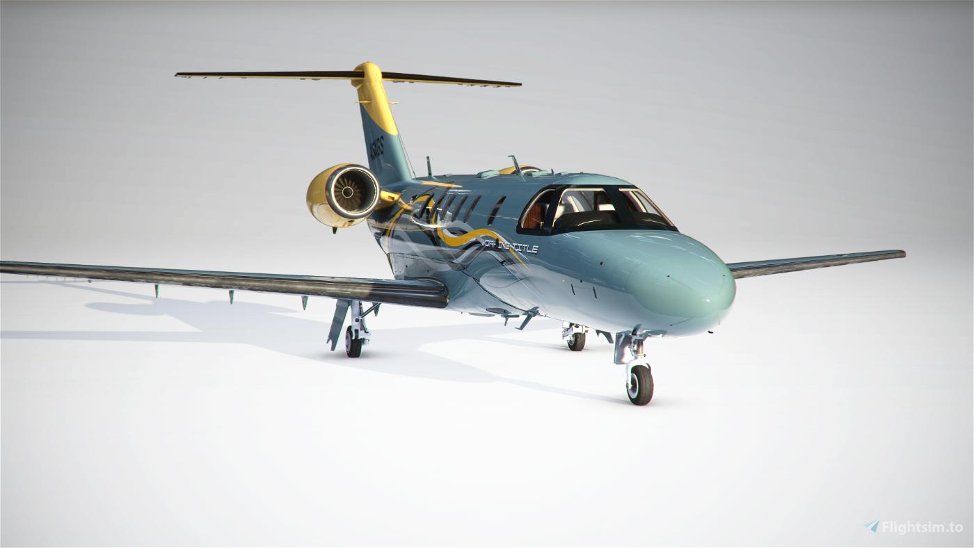 Citation CJ4 Working Title Flight Simulator 2020