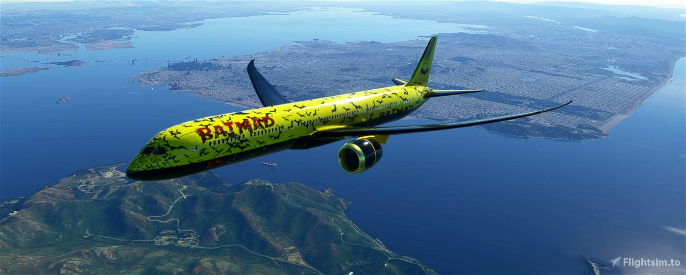 787-10 BATMAD Flight Simulator 2020