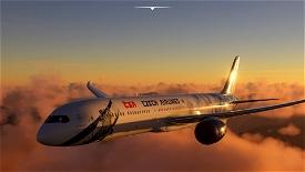 Boeing 787-10 CSA (Czech Airlines) 80th Celebration Image Flight Simulator 2020